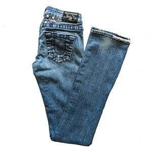 TRUE RELIGION Studded Jeans 25